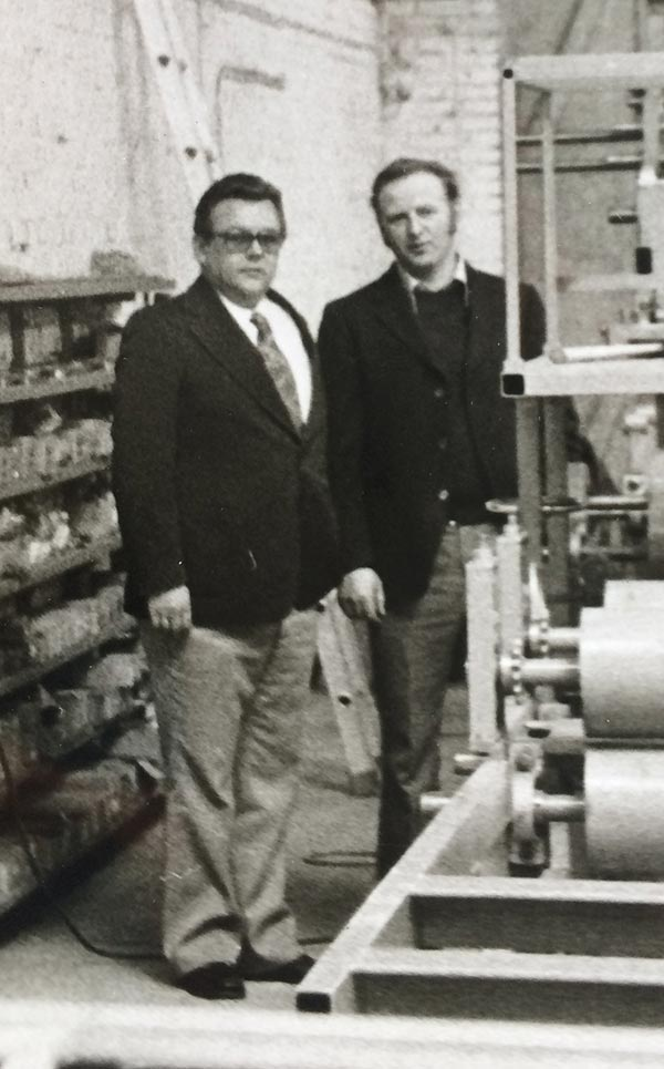 The foundation for our success was laid by Alfons Meyer and Hermann Stöver in 1975